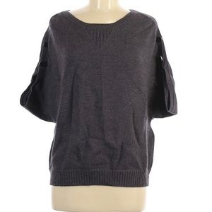 Laundry by Design wool pullover sweater 3/4 sleeve